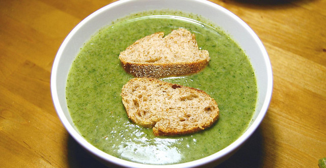 Green Oats Soup