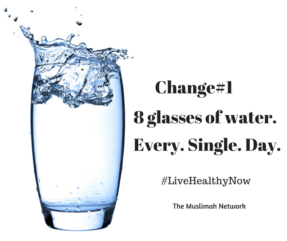 5 ways to get healthy now Change#1