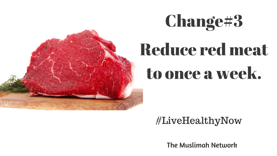 5 ways to get healthy now Change#3