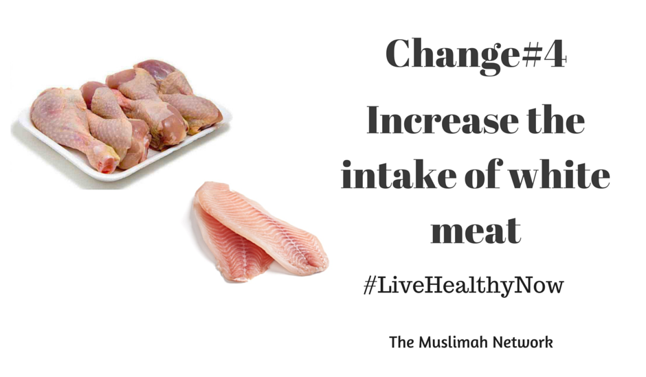 5 ways to get healthy now Change#4