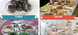 Then and Now – Ramadan meals