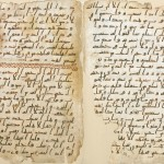 Photograph of manuscript released by University of Birmingham